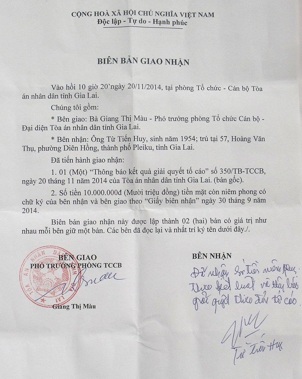 Vu an danh lon gay thuong tich o Gia Lai: Duong su de nghi thay tham phan tung nhan hoi lo hinh anh 3