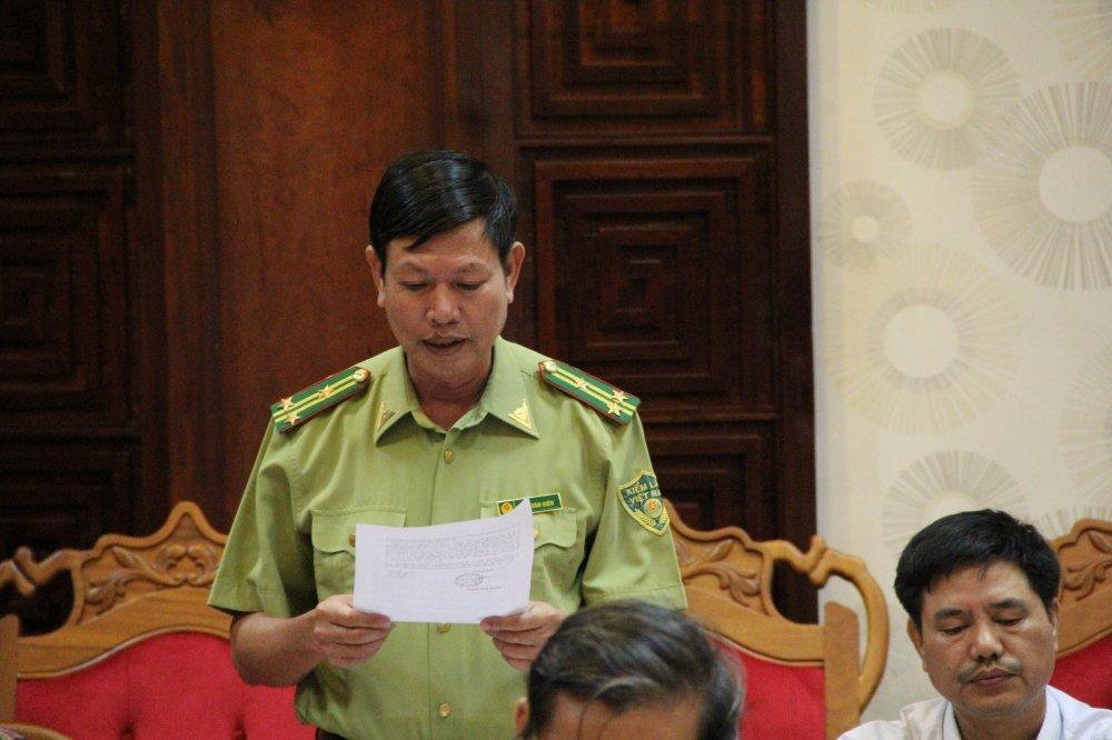 Dai cong truong khai thac go trai phep o Dak Lak: Chi cuc Kiem lam cung cap thong tin moi hinh anh 1