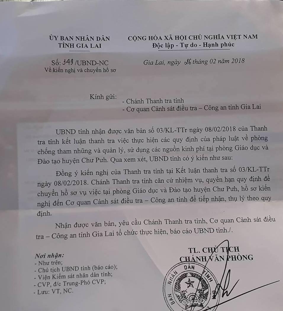 An tien cua hoc sinh, can bo Phong Giao duc & Dao tao huyen truc loi 6 ty dong hinh anh 1