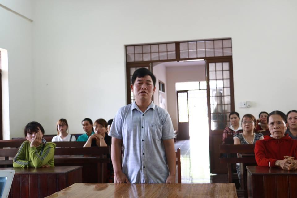 Nguyen Pho Chu tich xa bi to nhan tien chay viec linh an hinh anh 1