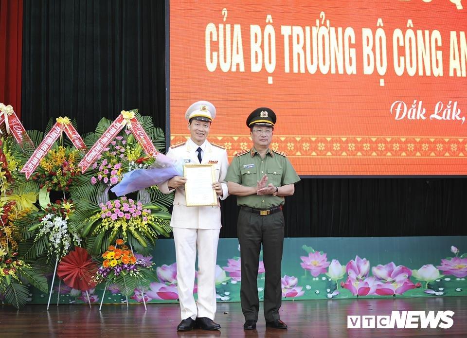 Cong an tinh Dak Lak co giam doc moi hinh anh 1