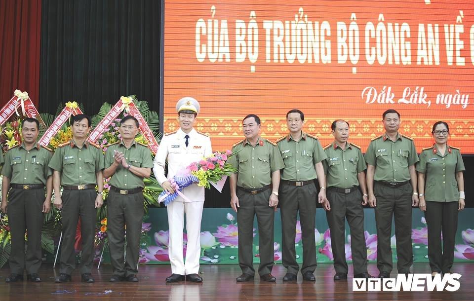 Cong an tinh Dak Lak co giam doc moi hinh anh 2