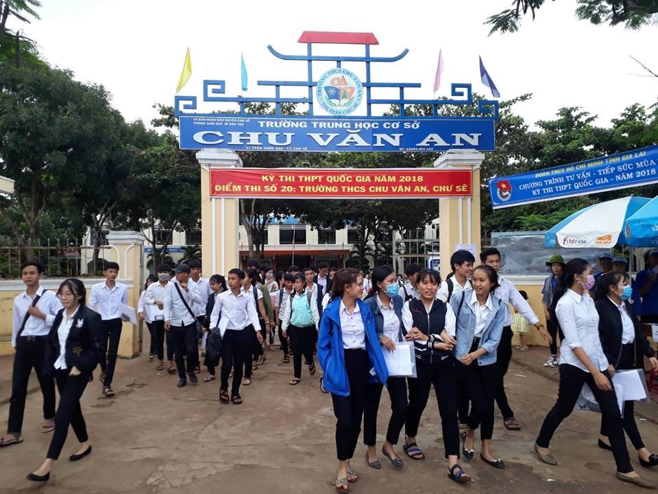 Pho Chanh Thanh tra so o Gia Lai 54 tuoi van du thi THPT Quoc gia 2018 hinh anh 1