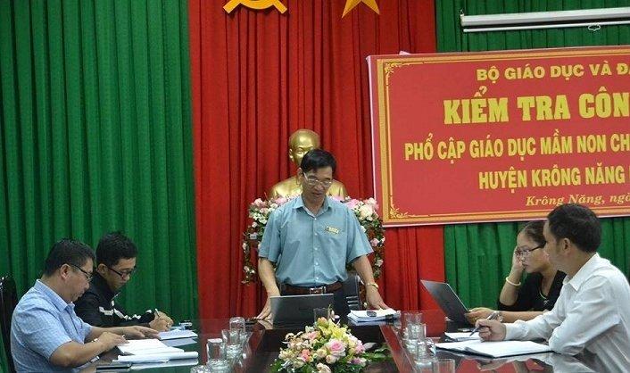 Nguyen Pho phong Kinh te huyen lam lo de thi cong chuc o Dak Lak dot tu hinh anh 1