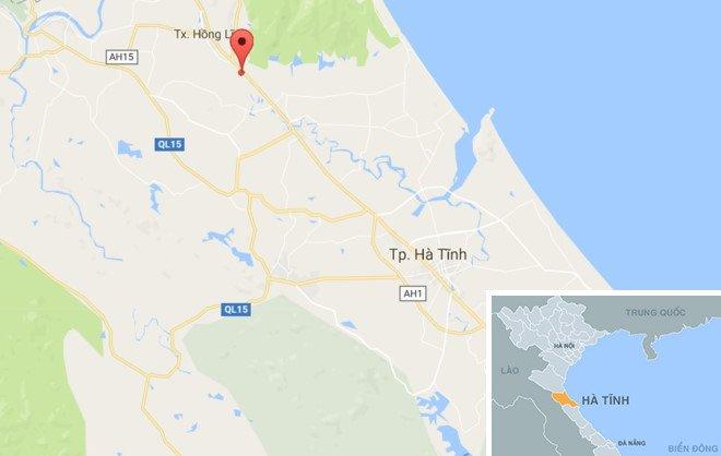 CSGT Ha Tinh bi hat vang khi bam kinh xe dau keo container: Nhan chung bang hoang ke lai hinh anh 3