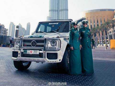 Dan sieu xe 'khung' cua canh sat xu so giau co Dubai hinh anh 1