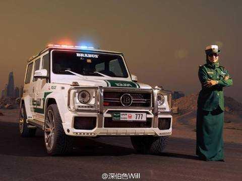 Dan sieu xe 'khung' cua canh sat xu so giau co Dubai hinh anh 2