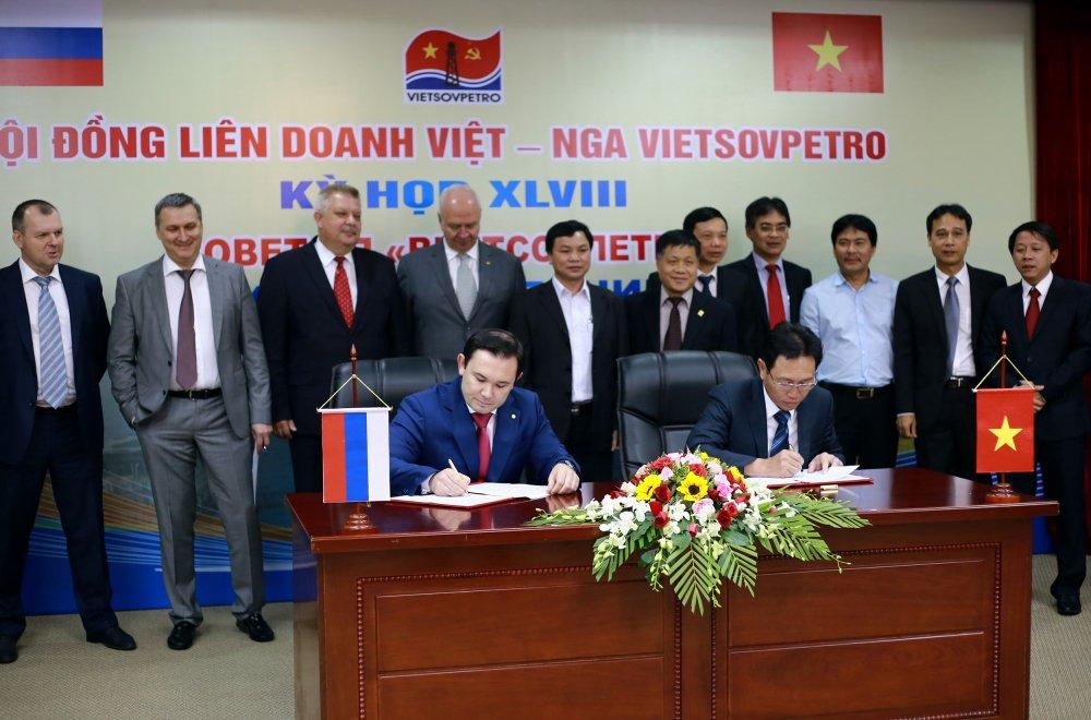 Hoi dong lien doanh Viet - Nga Vietsovpetro: Ky hop thu 48 ket thuc thanh cong hinh anh 1