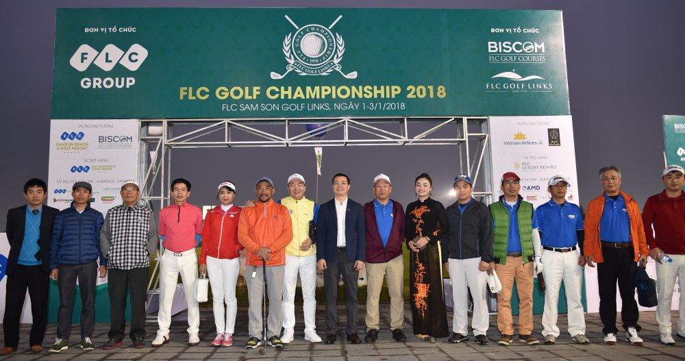 FLC Golf Championship 2018 chinh thuc khai mac voi 1.500 gon thu tham gia tranh tai hinh anh 1
