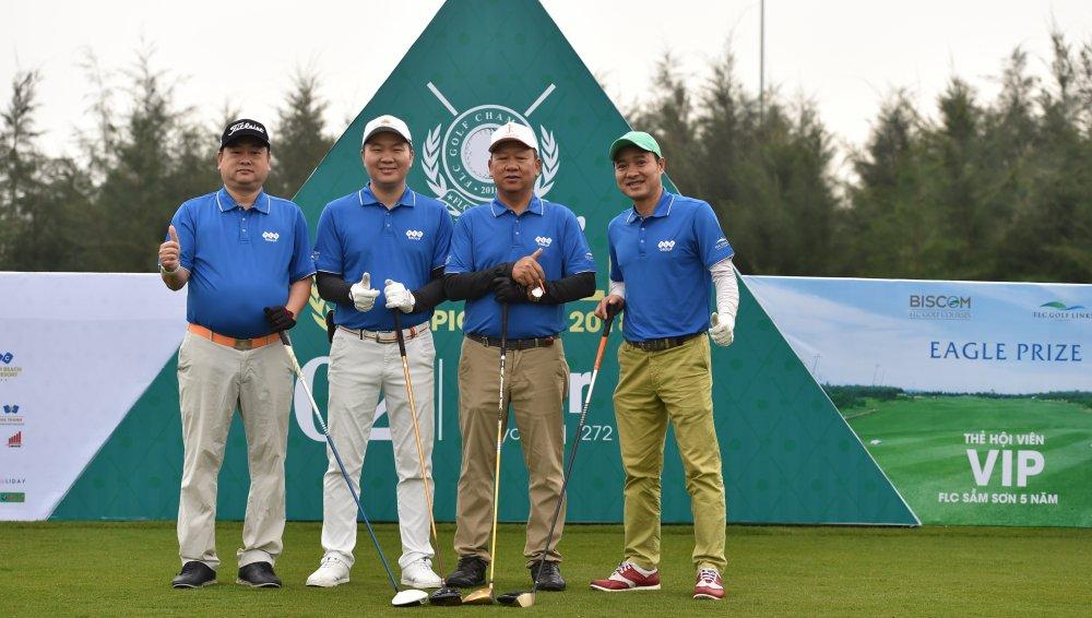 FLC Golf Championship 2018 chinh thuc khai mac voi 1.500 gon thu tham gia tranh tai hinh anh 5