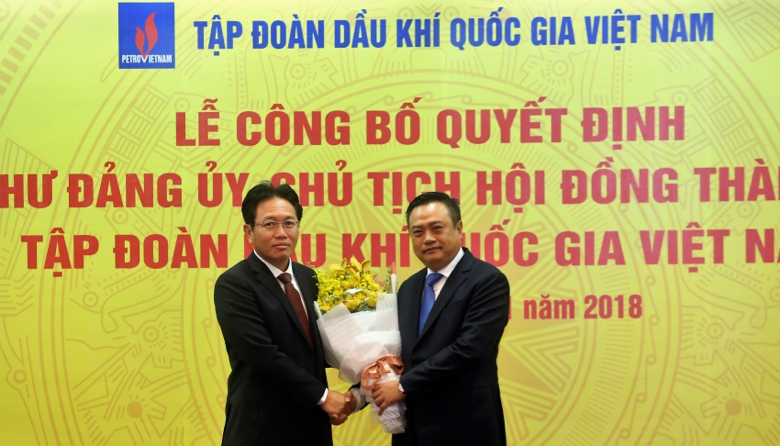 Cong bo Quyet dinh Bi thu Dang uy, Chu tich Hoi dong Thanh vien Tap doan Dau khi Quoc gia Viet Nam hinh anh 4