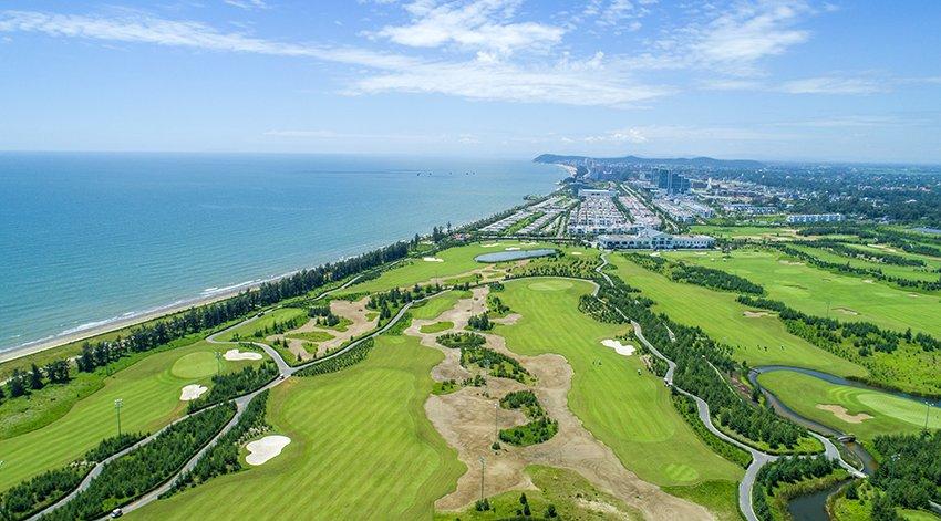 HIO tai Giai Vo dich Golf Nu Nghiep du FLC nam 2018 co the len toi 40 xe o-to hang sang hinh anh 2