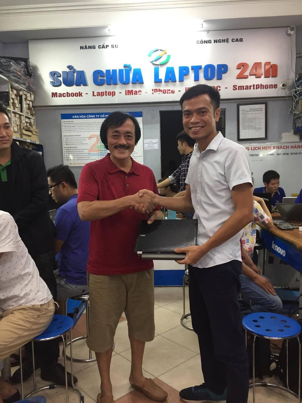 Nghe si Giang Coi - Cau chuyen 'that' tu man anh toi doi thuong tai Sua chua laptop 24h.com hinh anh 2