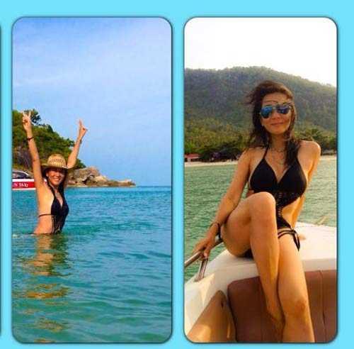 MC Nguyen Cao Ky Duyen mac bikini, khoe than hinh goi cam o tuoi 51 hinh anh 7