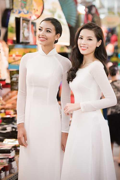 Ha Ho hang hieu, Hoa khoi Ao dai khoac 300 trieu len nguoi van bi che 'sen' hinh anh 4