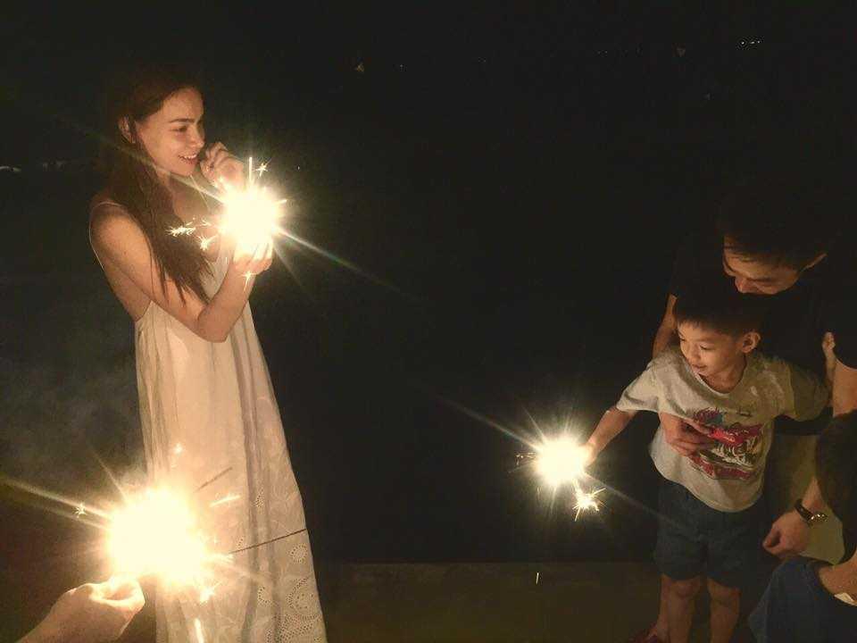 Video Ha Ho - Cuong Do La tai hop mung sinh nhat con trai hinh anh 3