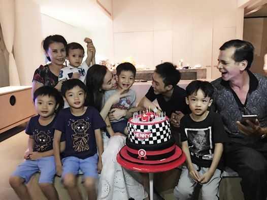 Video Ha Ho - Cuong Do La tai hop mung sinh nhat con trai hinh anh 1