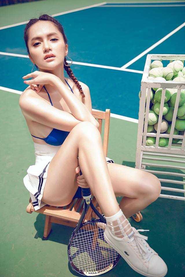 Huong Giang chuyen gioi khoe vong mot duoc photoshop qua da hinh anh 3