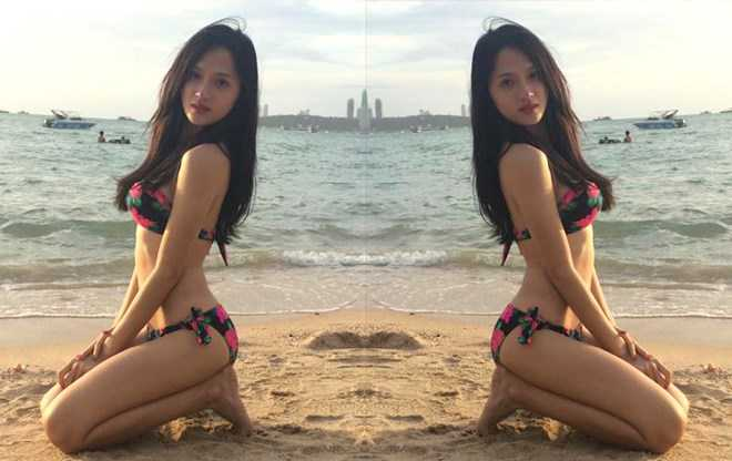 Huong Giang chuyen gioi khoe vong mot duoc photoshop qua da hinh anh 5
