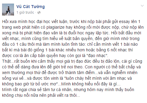 Len tieng ve Son Tung, Vu Cat Tuong bi Chau Dang Khoa 'to' dao nhac hinh anh 2