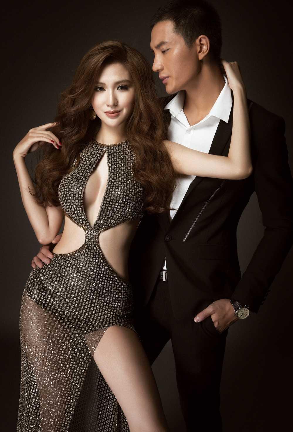 'Ga chien' cua Pham Huong goi cam ben Nam vuong toan cau hinh anh 8