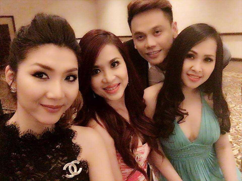 Dinh Ngoc Diep - Victor Vu bi mat to chuc le cuoi tai My hinh anh 6