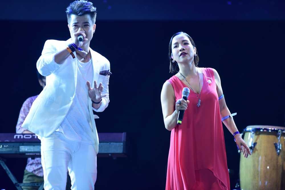 My Linh thang hoa tren san khau Monsoon Festival 2016 hinh anh 6