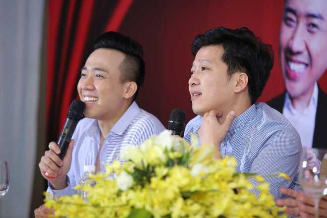 'Nao loan' cac gameshow, Truong Giang - Tran Thanh bi dat vao the doi dau hinh anh 1