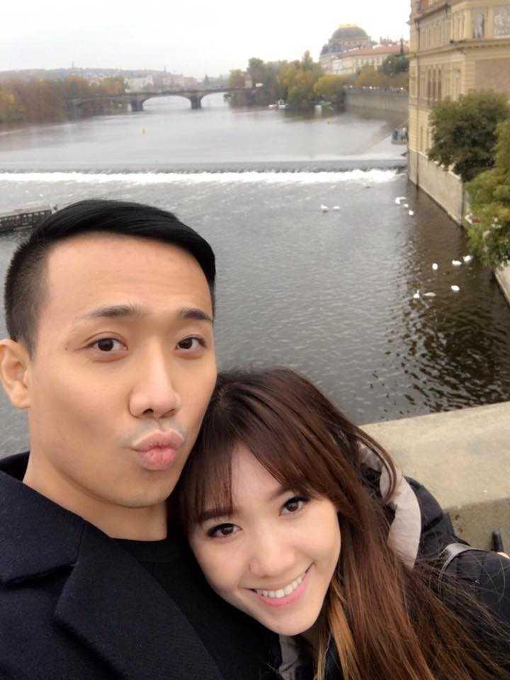 Tran Thanh va Hari Won tinh tu hanh phuc o chau Au hinh anh 6