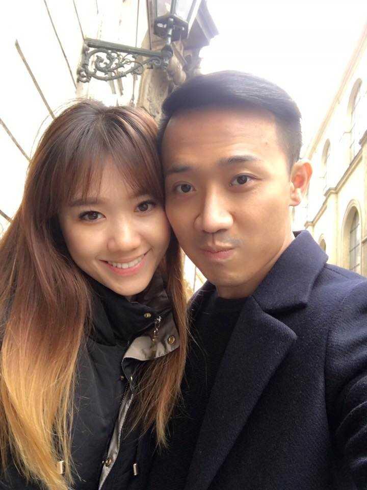 Tran Thanh va Hari Won tinh tu hanh phuc o chau Au hinh anh 4