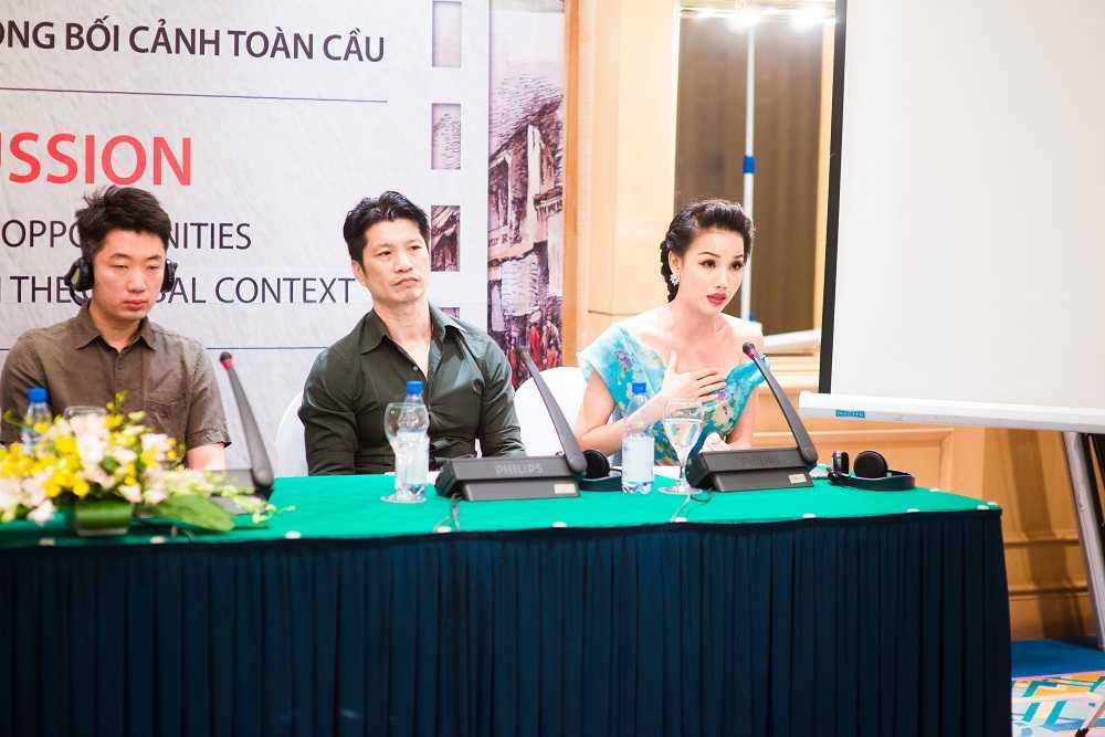 Vo chong Dustin Nguyen hoi ngo ngoi sao phim 'Dong Duong' hinh anh 4