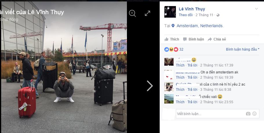 Nho nhung buc anh nay, fan nhanh chong nhan ra Hoang Thuy Linh di du lich chau Au cung Vinh Thuy hinh anh 9