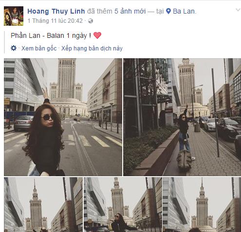 Nho nhung buc anh nay, fan nhanh chong nhan ra Hoang Thuy Linh di du lich chau Au cung Vinh Thuy hinh anh 4