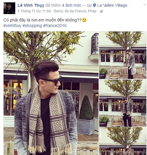 Nho nhung buc anh nay, fan nhanh chong nhan ra Hoang Thuy Linh di du lich chau Au cung Vinh Thuy hinh anh 1