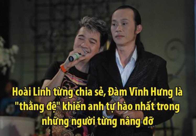 Dam Vinh Hung thu nhan se 'mat dien' khi dung truoc Hoai Linh hinh anh 1