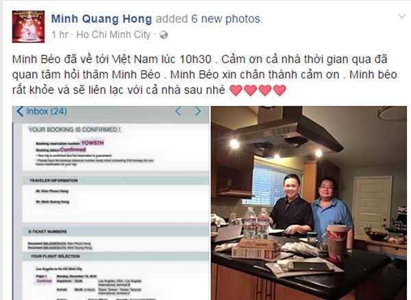 Minh Beo ve Viet Nam: 'Toi thay lo cho nhung dua tre cua minh' hinh anh 2