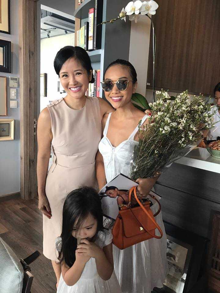 Doan Trang, Ha Kieu Anh tham gia tiec Tat nien tai nha Hong Nhung hinh anh 3