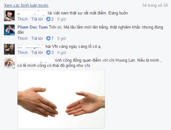 Viet Huong dien hai tho tuc, cuoi ho ho, danh ca Huong Lan bo ve hinh anh 3