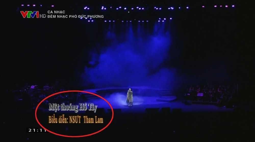 VTV1 doi ten diva Thanh Lam thanh 'Tham Lam' hinh anh 2