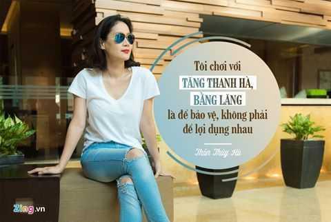 Than Thuy Ha: 'Choi than voi Tang Thanh Ha khong phai de loi dung' hinh anh 5