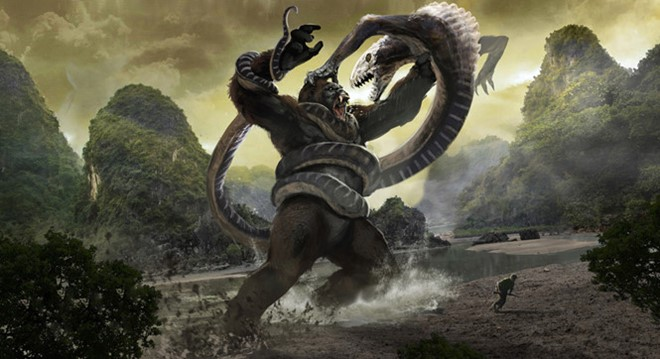 'Kong: Skull Island': Bom tan dung truoc nguy co lo hinh anh 1