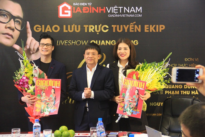 Quang Dung: 'Mong duoc song ca cung con trai' hinh anh 1