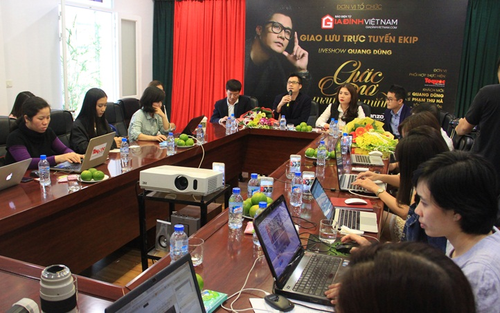 Quang Dung: 'Mong duoc song ca cung con trai' hinh anh 9