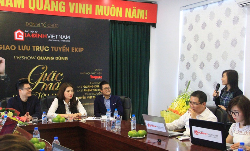 Quang Dung: 'Mong duoc song ca cung con trai' hinh anh 4