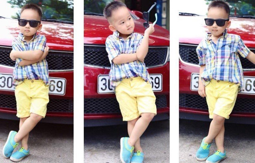 Chong con trong doi thuc cua nang dau phim 'Song chung voi me chong' hinh anh 5