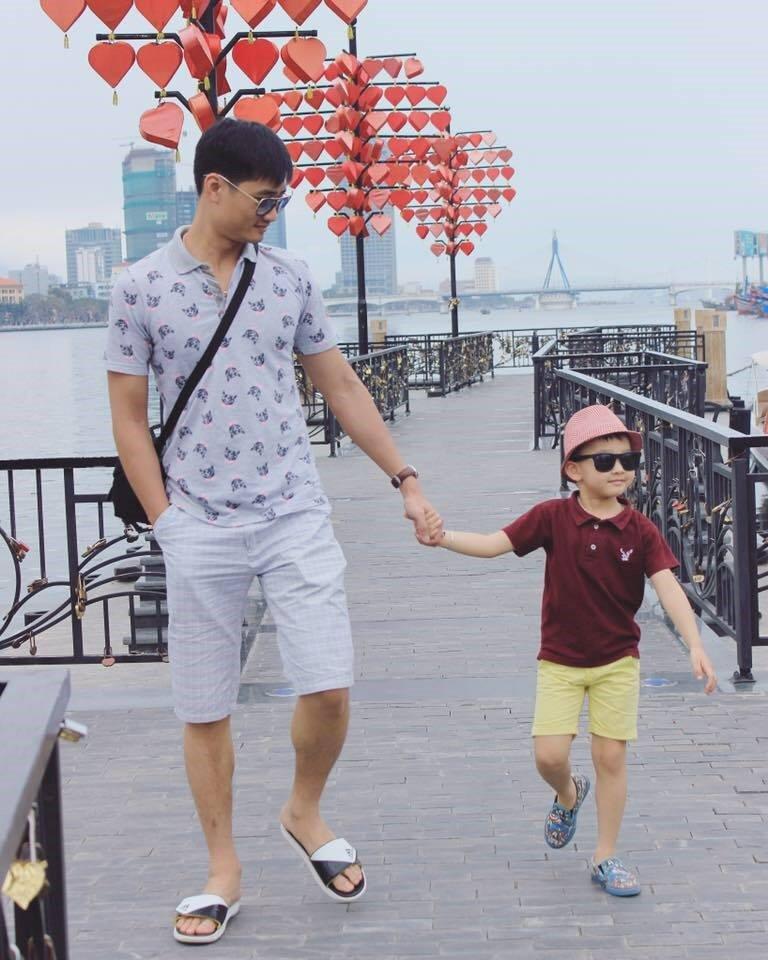 Chong con trong doi thuc cua nang dau phim 'Song chung voi me chong' hinh anh 4
