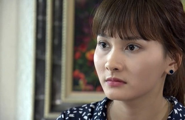 Tap 9 'Song chung voi me chong': Van bi chong va me chong 'tra khao' vi cuoc dien thoai la hinh anh 3