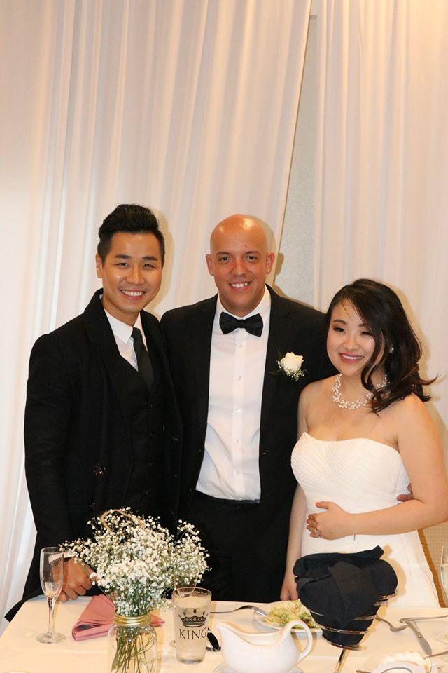 Xuc dong khoanh khac Nguyen Khang thay cha dua em gai vao le duong hinh anh 5