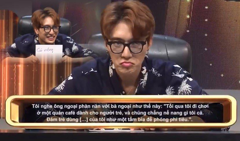 Gameshow Huong Giang xuc pham Trung Dan con nhieu cau tra loi 'sieu bua' hinh anh 1