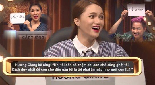 Gameshow Huong Giang xuc pham Trung Dan con nhieu cau tra loi 'sieu bua' hinh anh 2